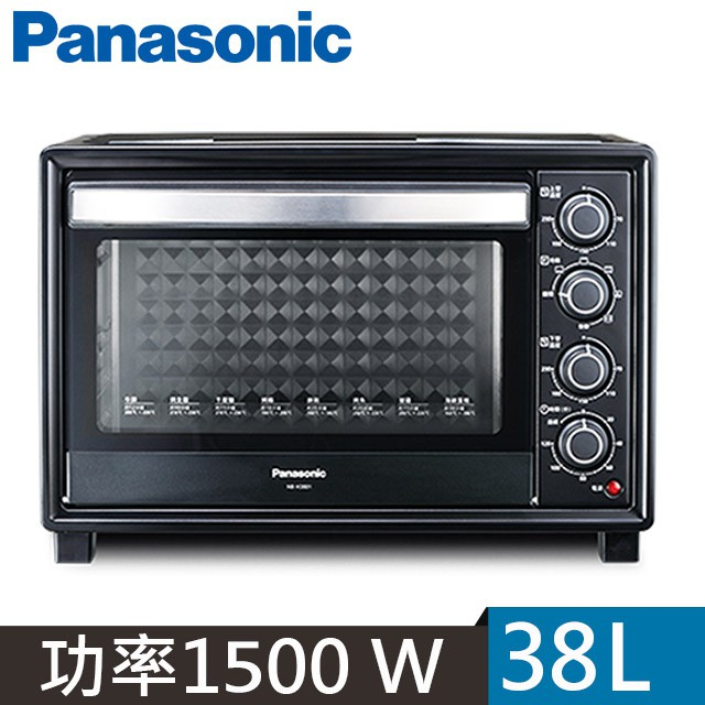 Panasonic國際牌38公升烘烤爐烤箱NB-H3801