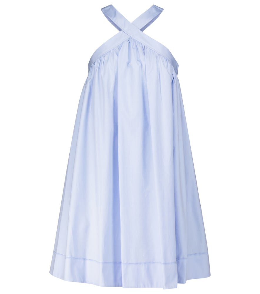 Cotton minidress