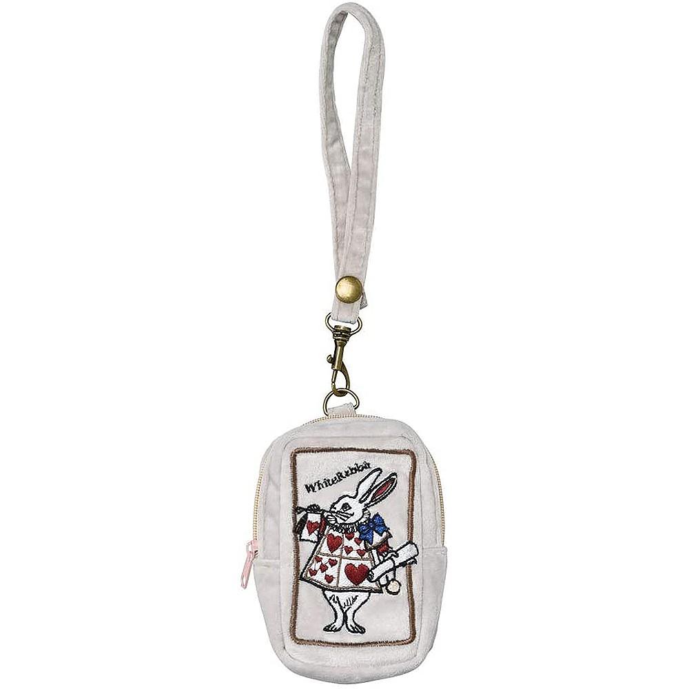 SETO CRAFT 刺繡零錢包 愛麗絲夢遊仙境 兔子先生
