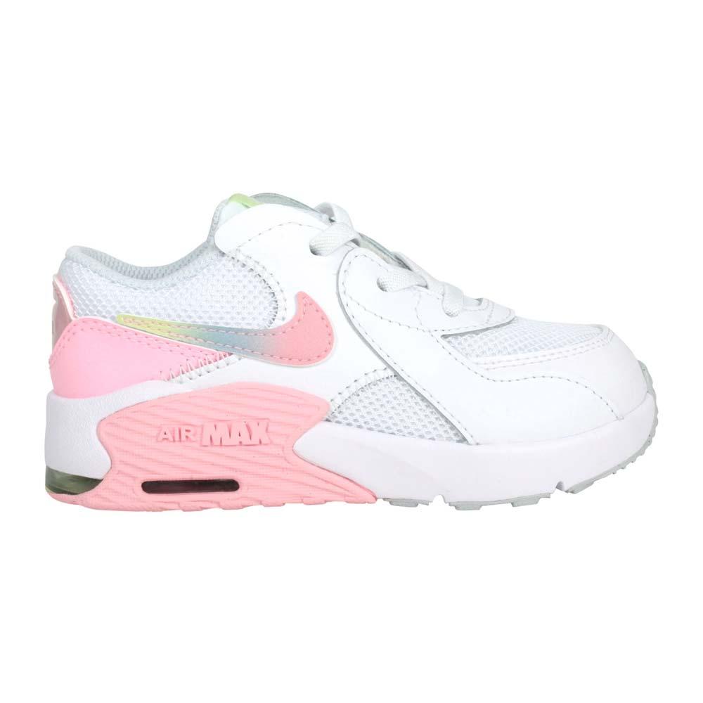 NIKE AIR MAX EXCEE MWH-TD女小童休閒鞋-慢跑 氣墊 白粉藍綠