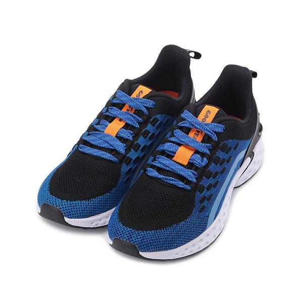GOODYEAR 登月先鋒 飛織緩震運動鞋 藍 GAKR08556 大童鞋