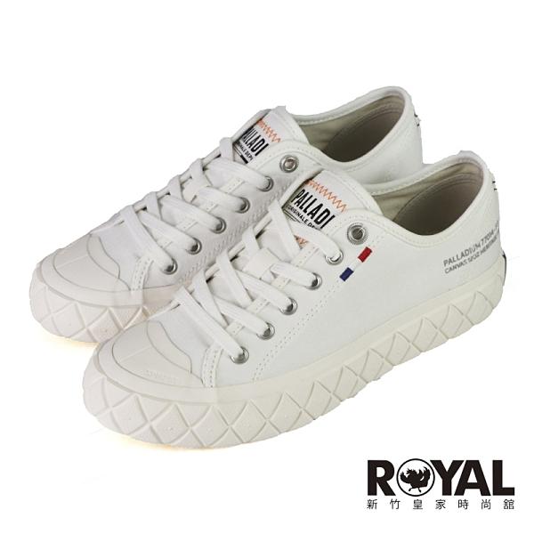 Palladium PALLA ACE 白色 黃膠底 餅乾鞋 男女款 NO.B1974【新竹皇家 77014-116】