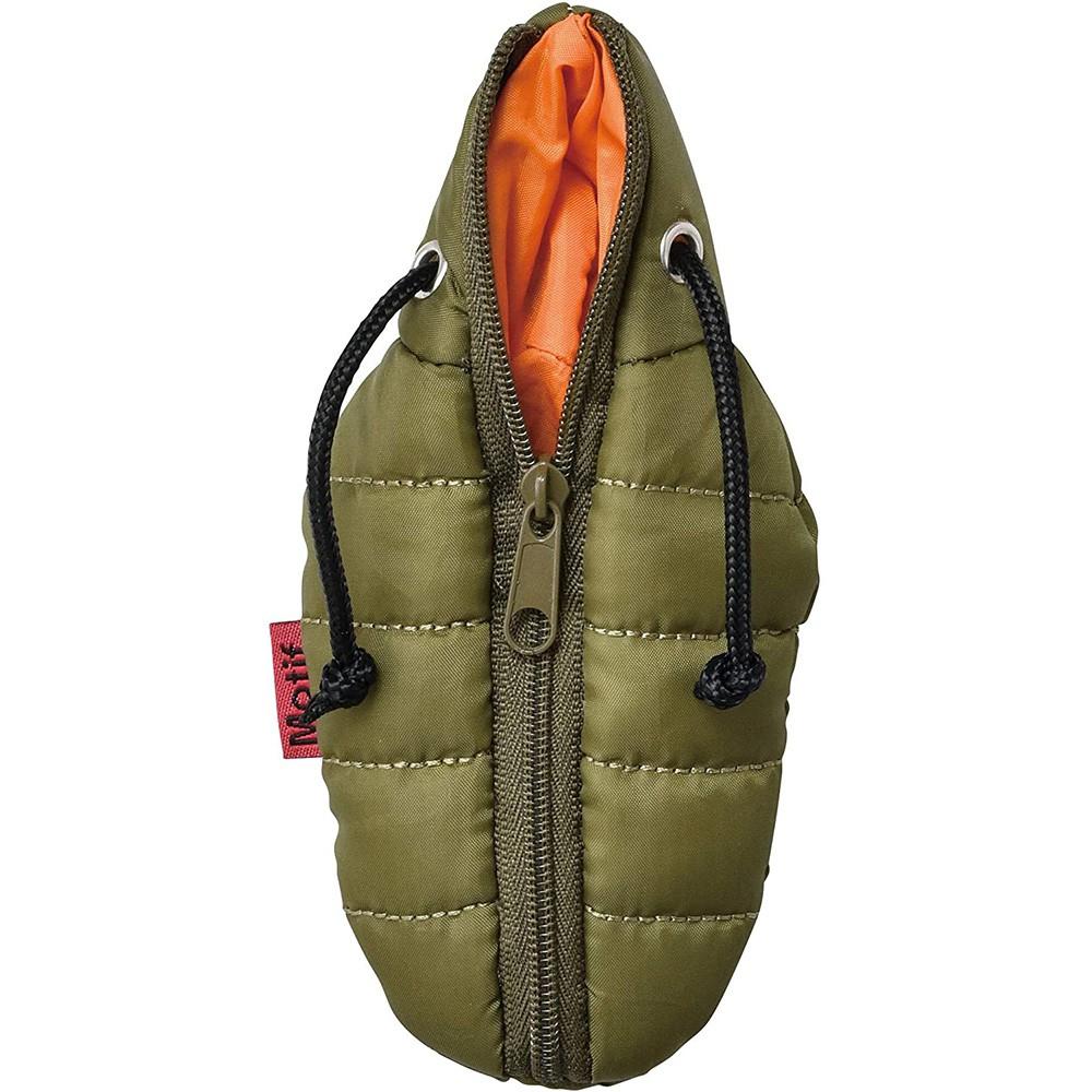 SETO CRAFT 睡袋造型零錢包 附登山扣環 綠