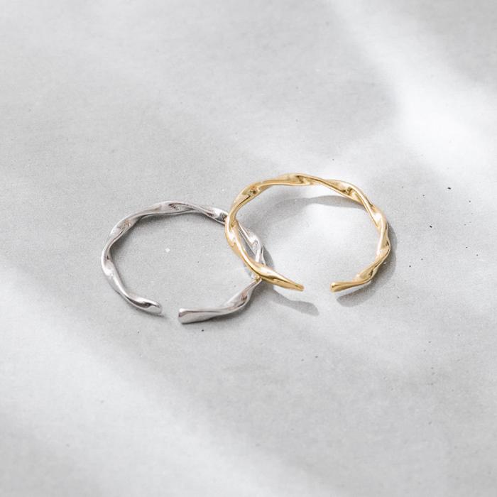 |純銀|波浪.戒指