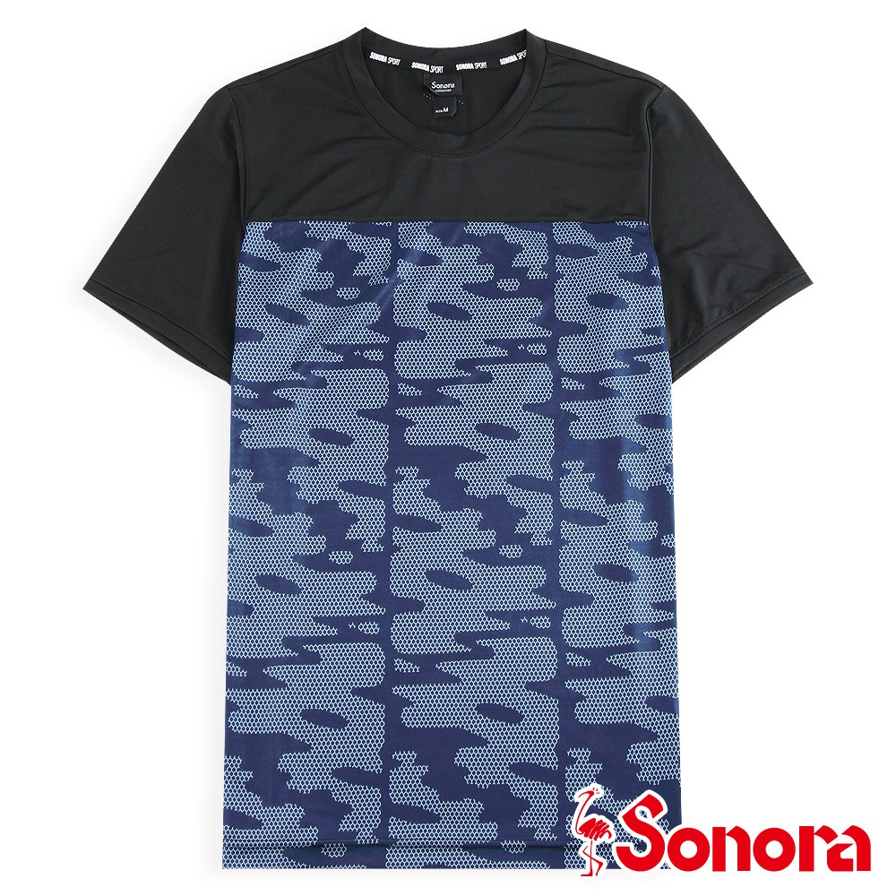 【SONORA 尚諾奈】MIT機能上衣 - 男裝(黑色/藍色)