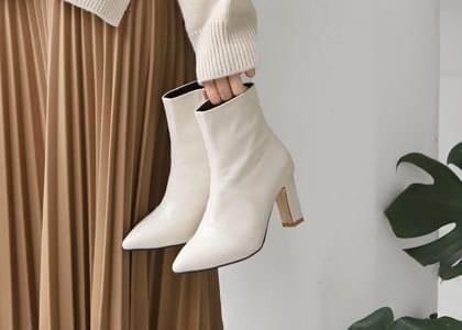 韓國空運 - Blancy stiletto ankle boots 靴子