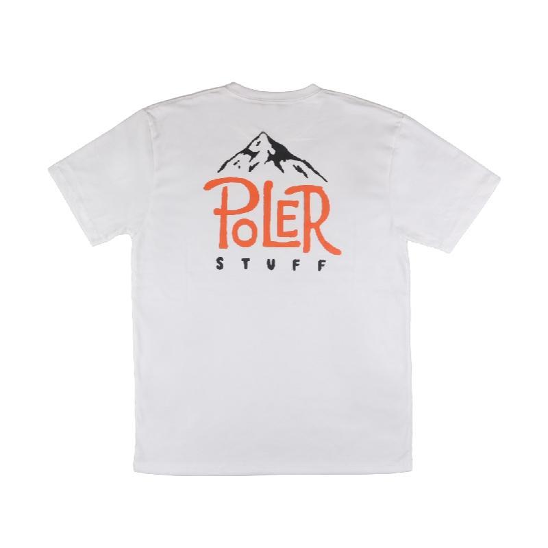 山峰POLER 短袖上衣 / 白色 Size : M