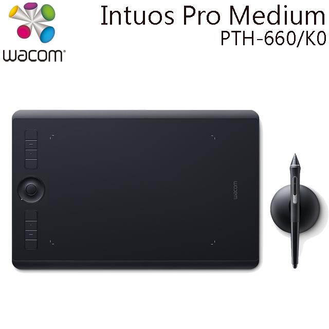 (專)Wacom Intuos Pro Medium 創意觸控繪圖板