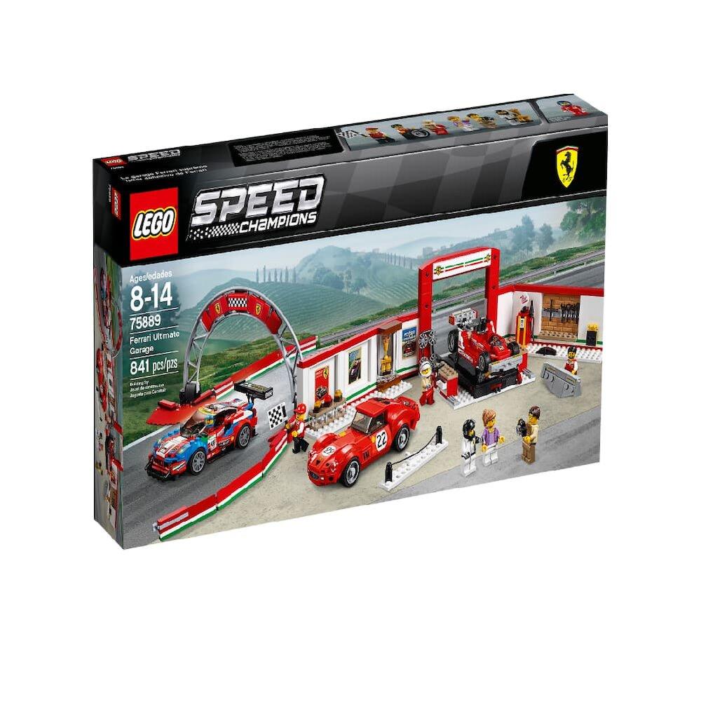 75889【LEGO 樂高積木】賽車 Speed系列 -Ferrari Ultimate Garage