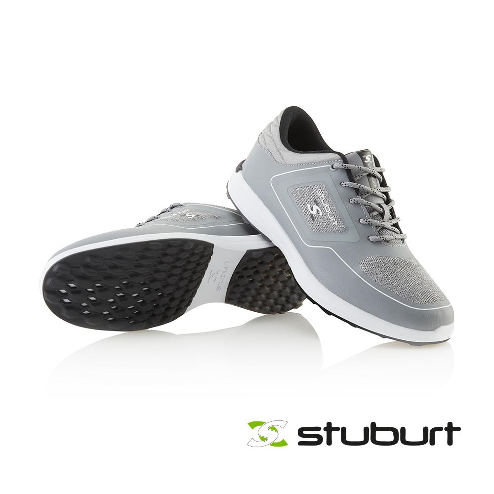 【STUBURT】英國百年高爾夫球科技防水練習鞋XP II SPIKELESS SBSHU1130 淺灰