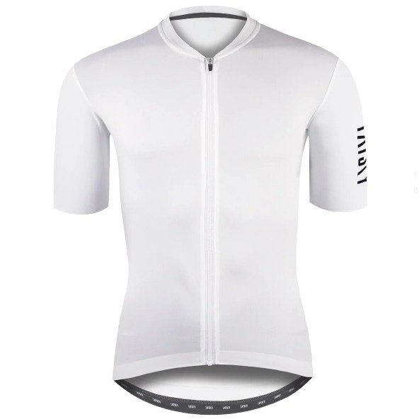 BAISKY百士奇夏季自行車衣男款空力短車衣 潔淨 II 白