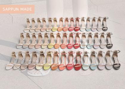 韓國空運 - Charmer Mary Jane sandal heel 涼鞋