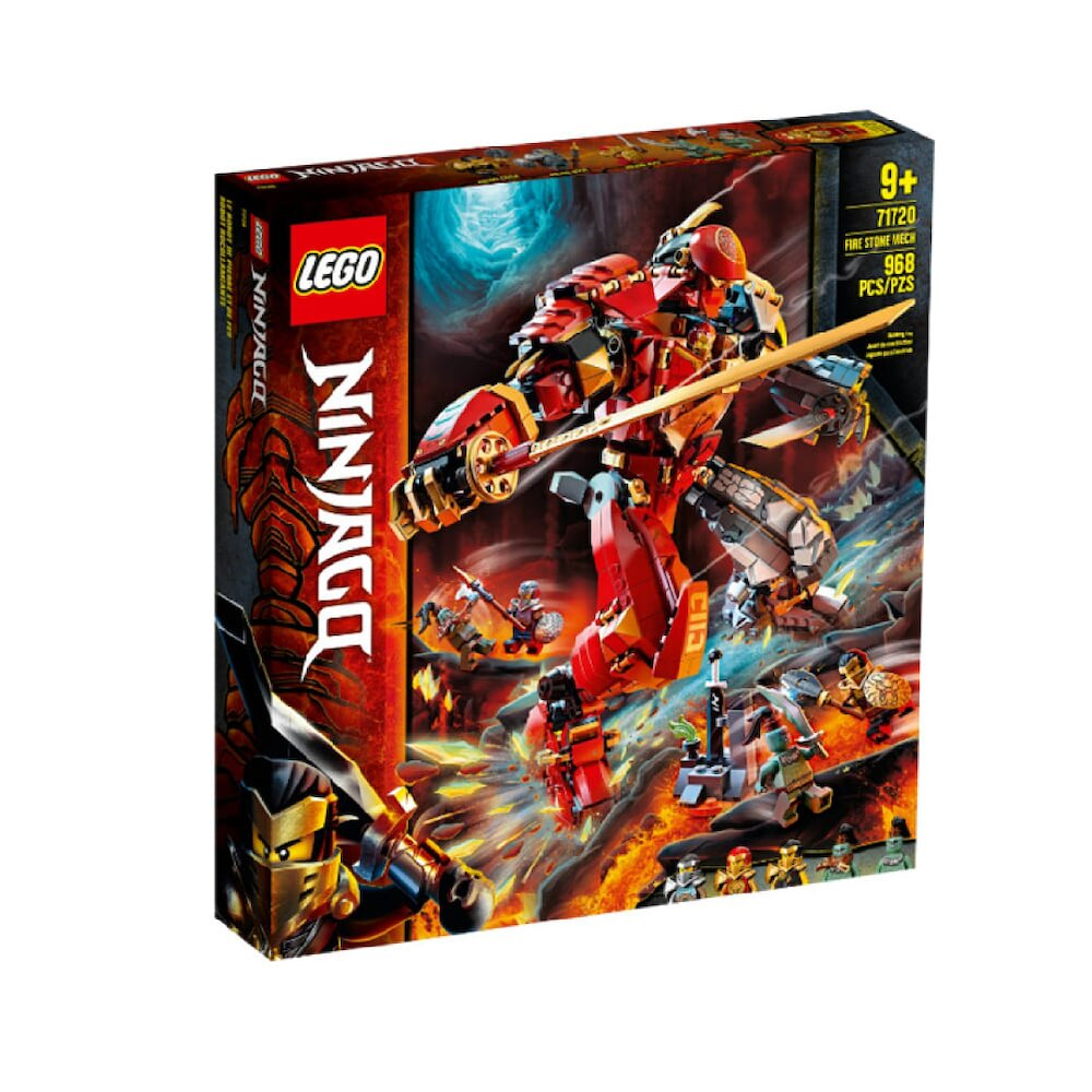 71720【LEGO 樂高積木】忍者 Ninjago 系列 - 火焰石機械人 (968pcs)