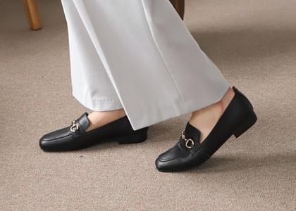 韓國空運 - Pbelz Genuine Leather Loafers 樂福鞋
