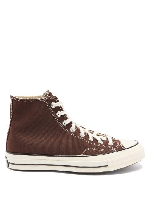 Converse - Chuck 70 High-top Canvas Trainers - Mens - Dark Brown