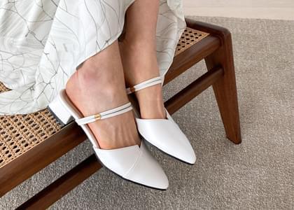 韓國空運 - Gelsy stiletto mule slippers 涼鞋
