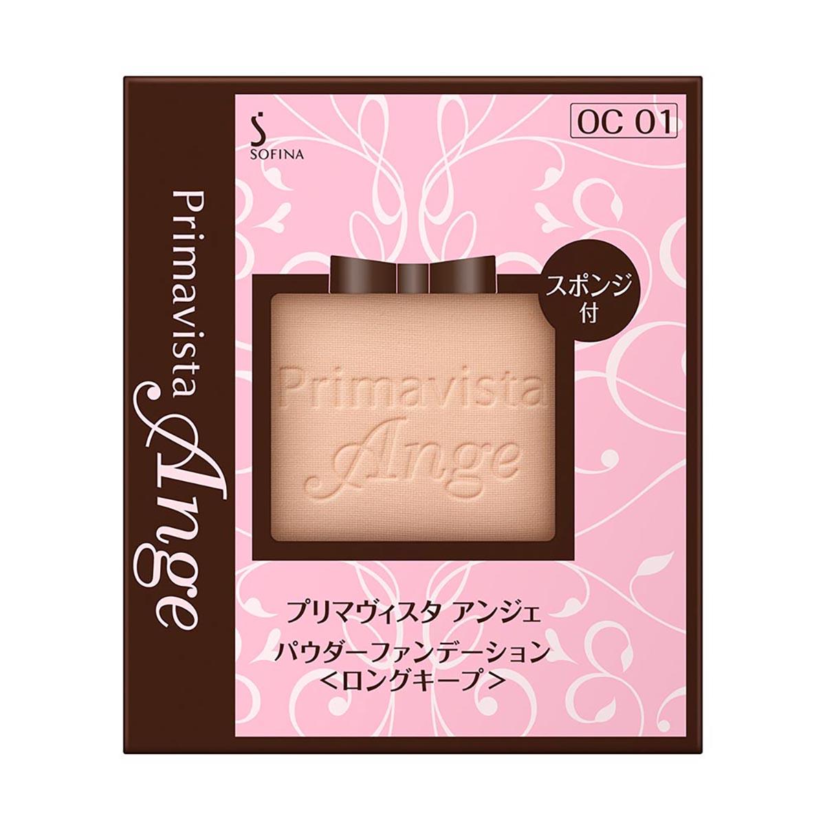SOFINA蘇菲娜 漾緁輕妝綺肌長效粉餅OC01 9.7g 【康是美】