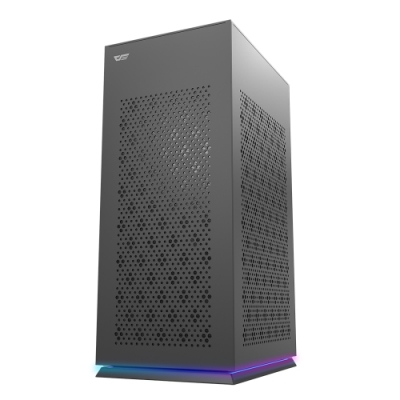 darkFlash DLH21 ITX 電腦機殼/機箱-黑(含9公分排風扇) – DF01-0040