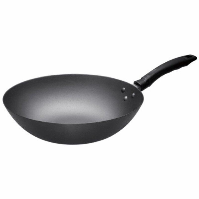 SUPOR/蘇泊爾 炒鍋蘇泊爾好幫手30CM精鑄鐵鍋
