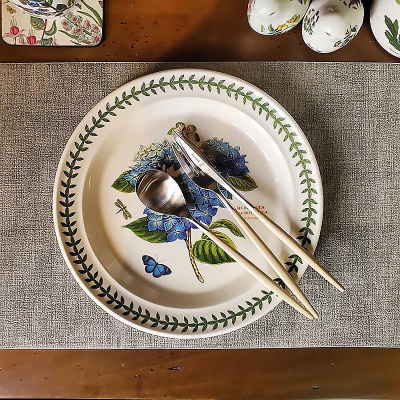 餐墊組 英國經典植物園系列 25公分餐盤 6入