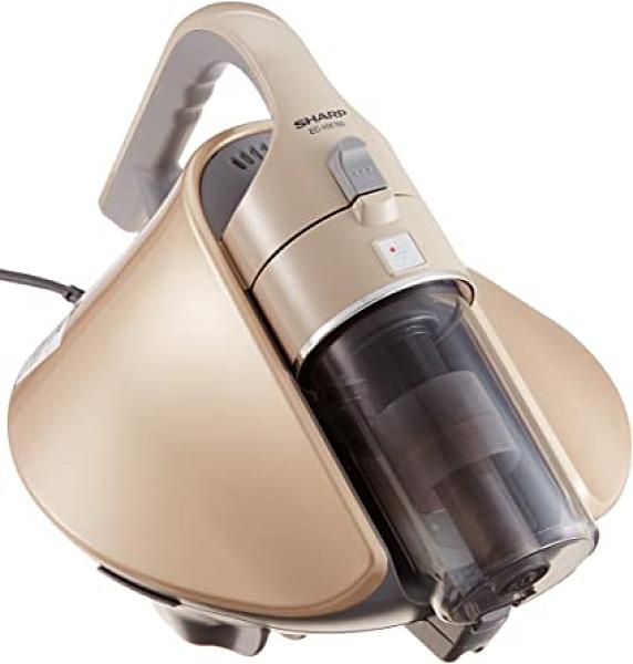 SHARP【日本代購】夏普 搭載淨離子 塵蟎機 旋風被褥吸塵器EC-HX150 - 金色