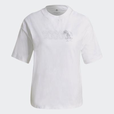 adidas DISNEY 米妮短袖上衣 女 GS0248