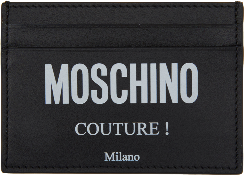 "Moschino 黑色 Fantasy Print ""Couture""卡包"
