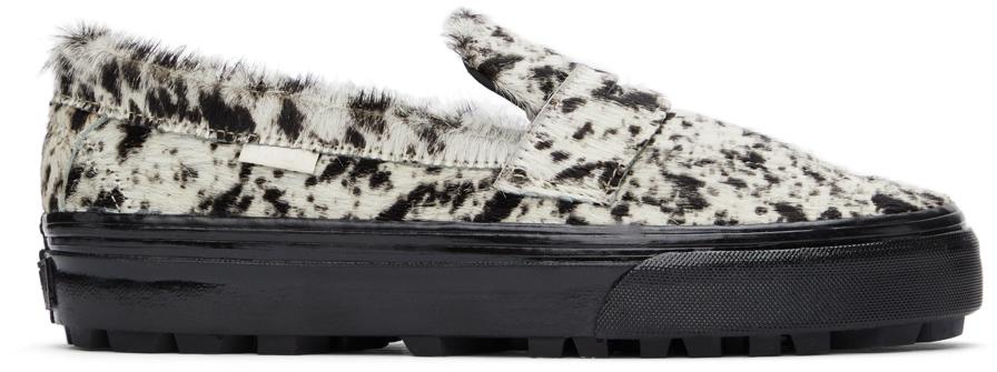 Vans 灰白色 & 棕色 Style 53 LX 乐福鞋