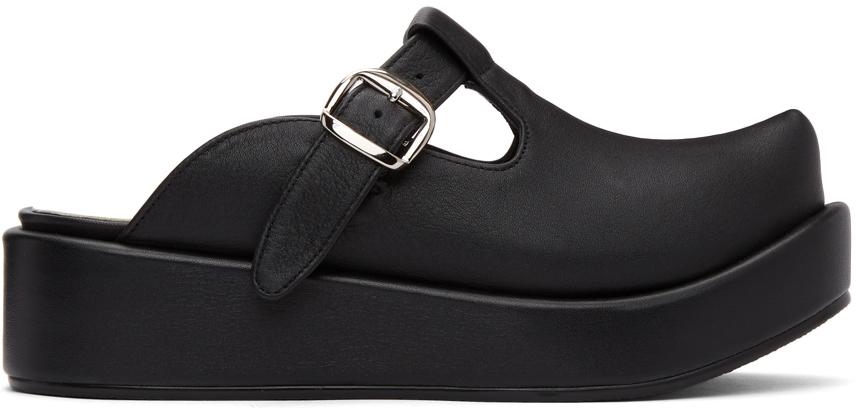 Flat Apartment 黑色 T-Bar 乐福鞋