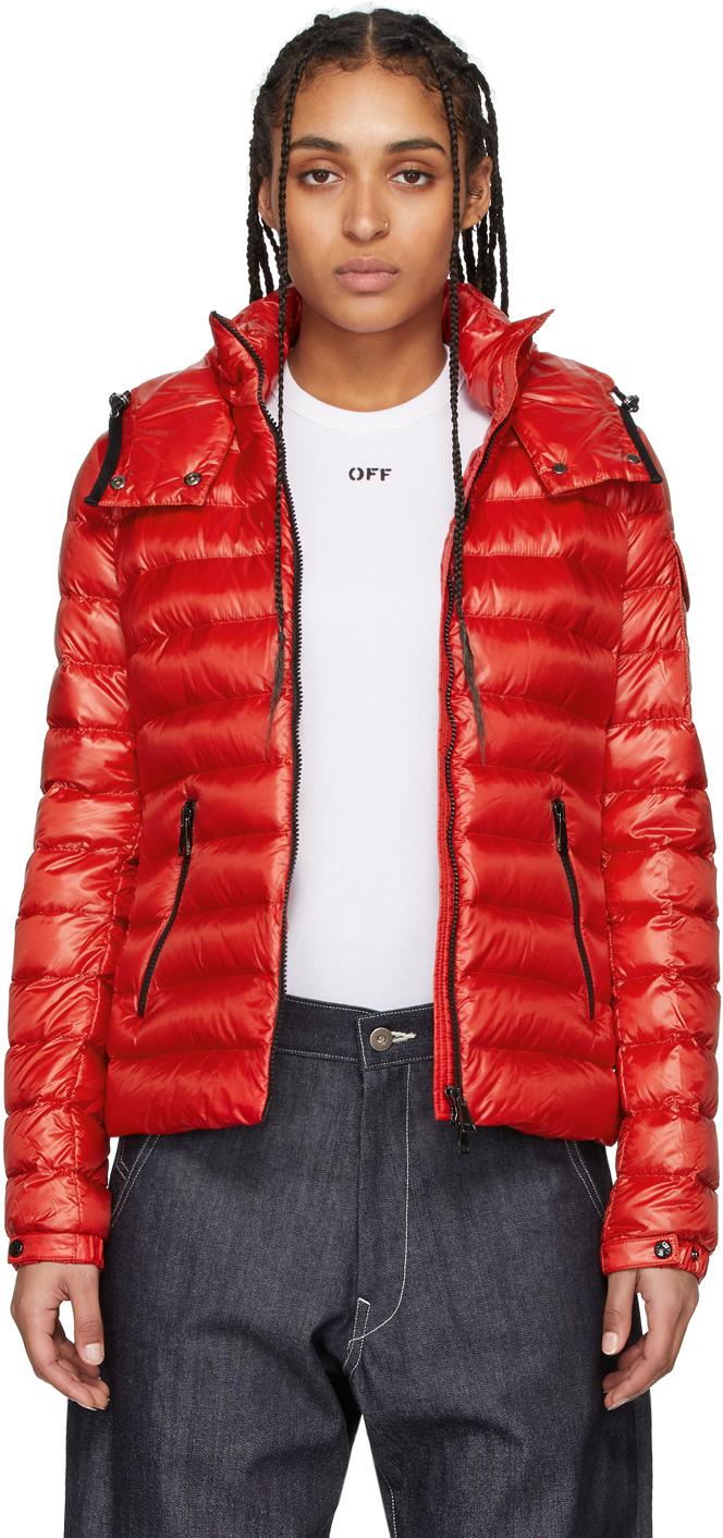 Moncler 红色 Bleu 羽绒夹克