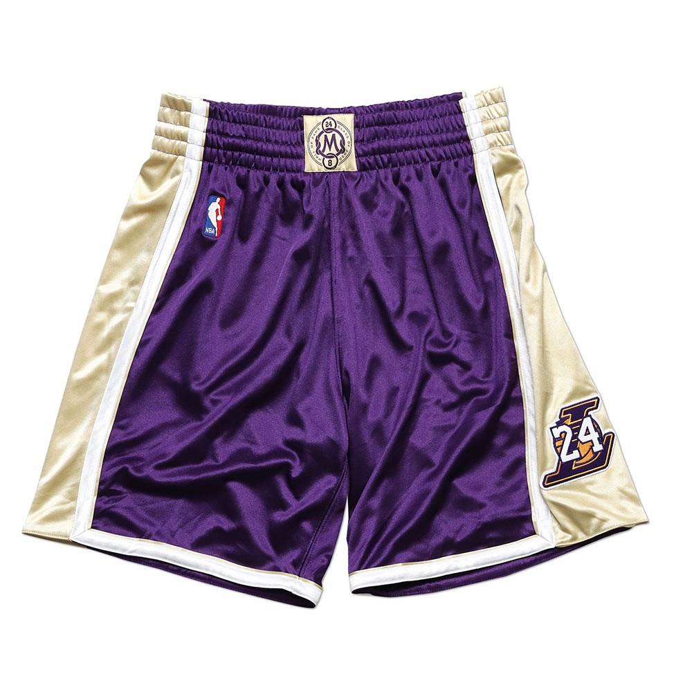 Mitchell & Ness NBA 球員版球褲 HOF 96-16 Home Laker 湖人 紫