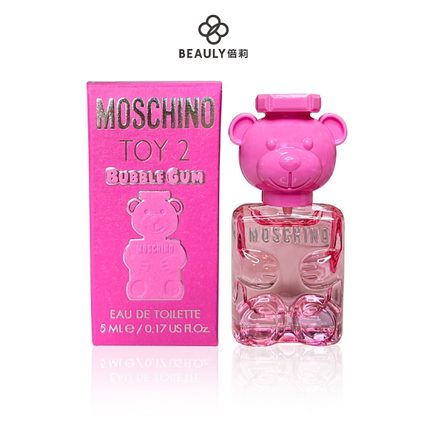 MOSCHINO BUBBLE GUM 泡泡熊女性淡香水 5ml 小香《BEAULY倍莉》