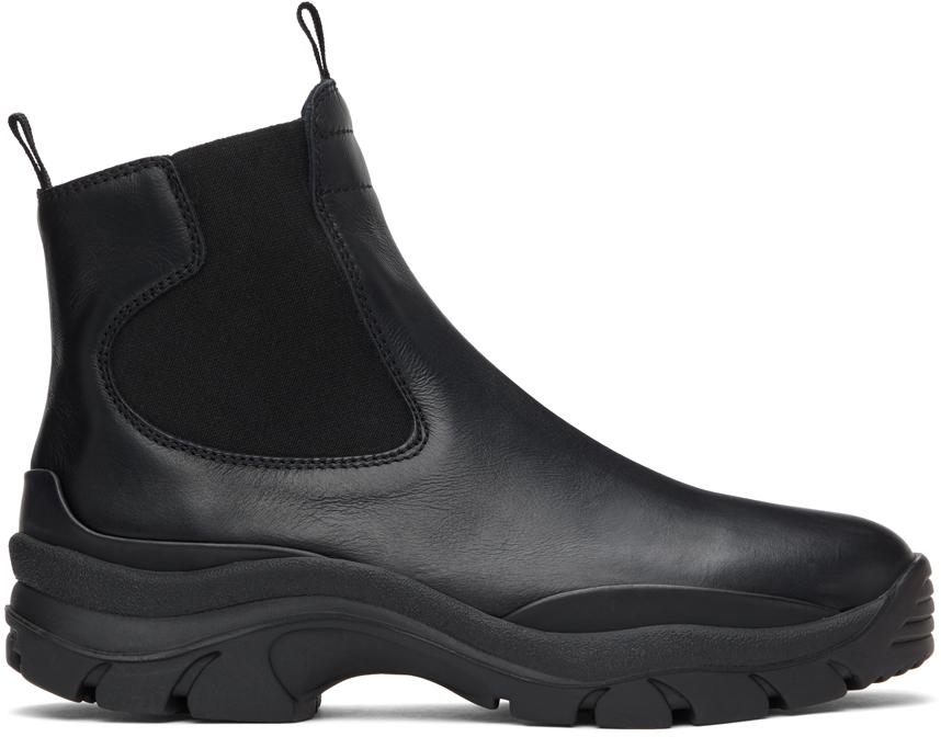 John Elliott 黑色 Caldera 切尔西靴
