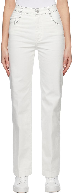 Loro Piana 白色 Lewel 牛仔裤