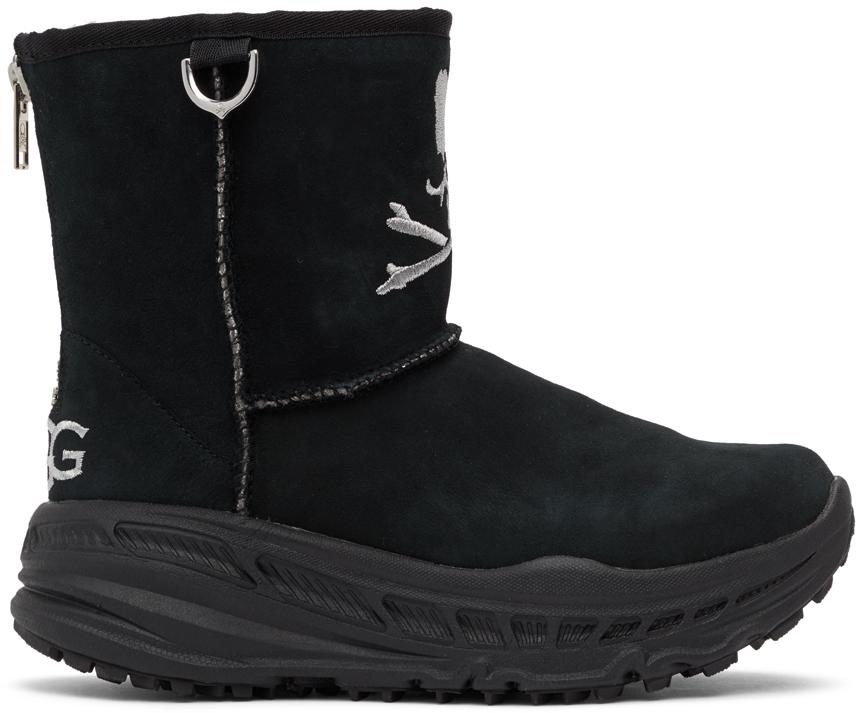 mastermind WORLD 黑色 UGG 联名 CA805 踝靴