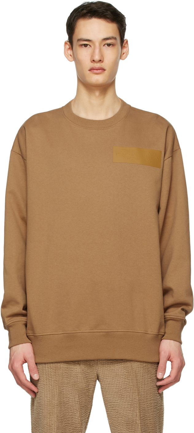 Acne Studios 黄褐色 Dizonord 联名大廓形套头衫
