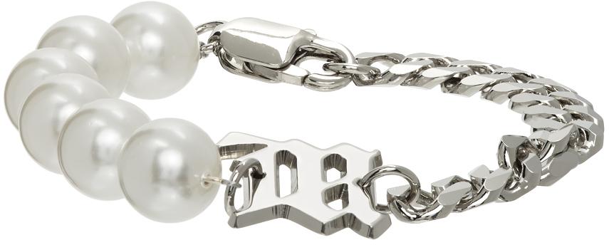 MISBHV 银色 Pearl 手链