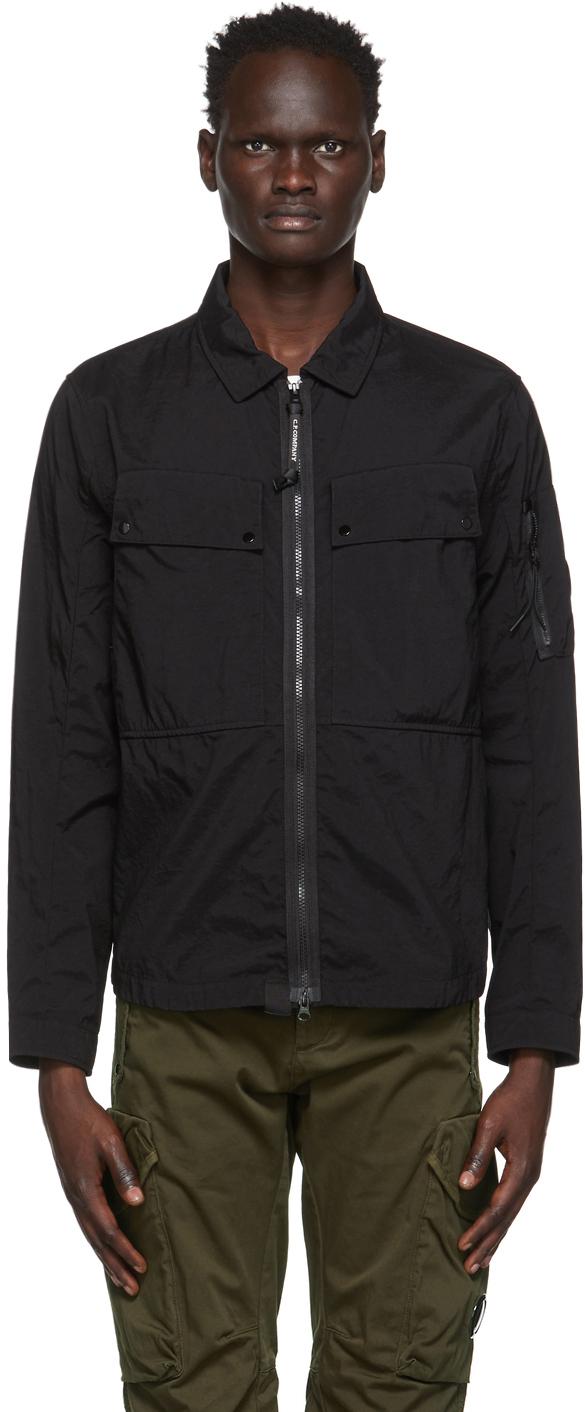 C.P. Company 黑色 Taylon P 工装夹克