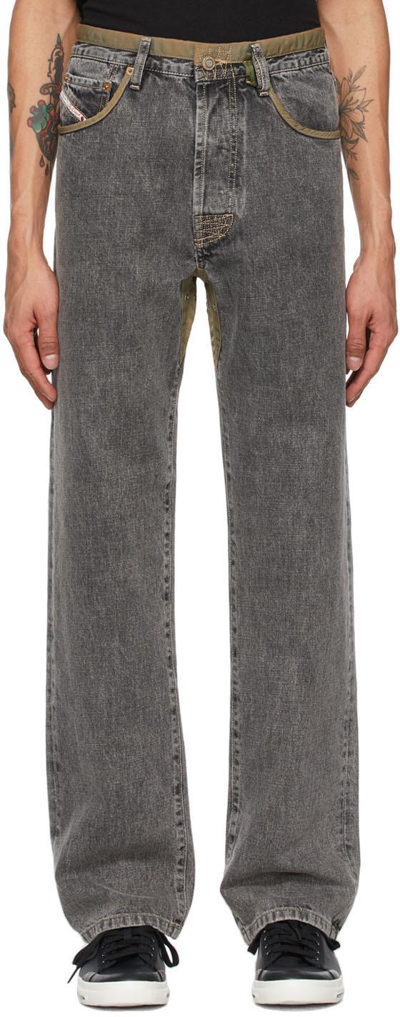 Diesel 灰色 D4D-P2 牛仔裤