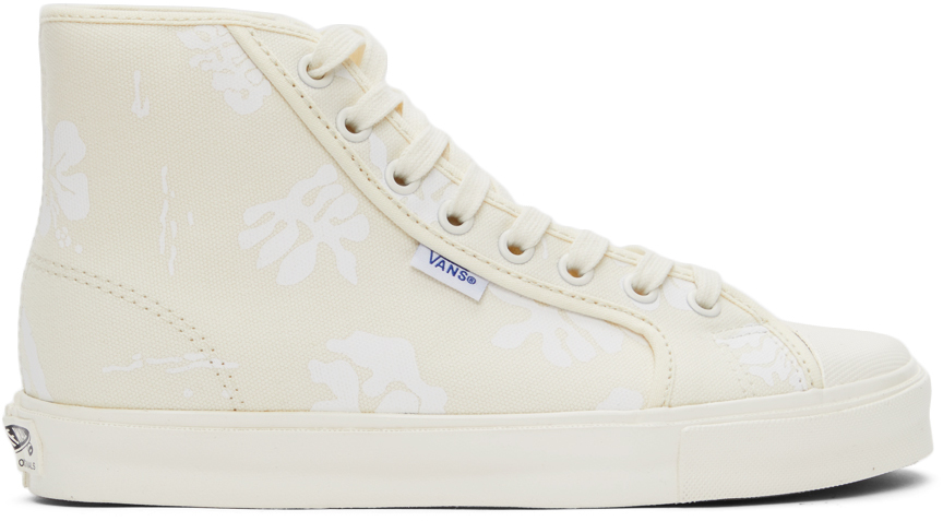 Vans 灰白色 Vault 系列 OG Style 24 高帮运动鞋
