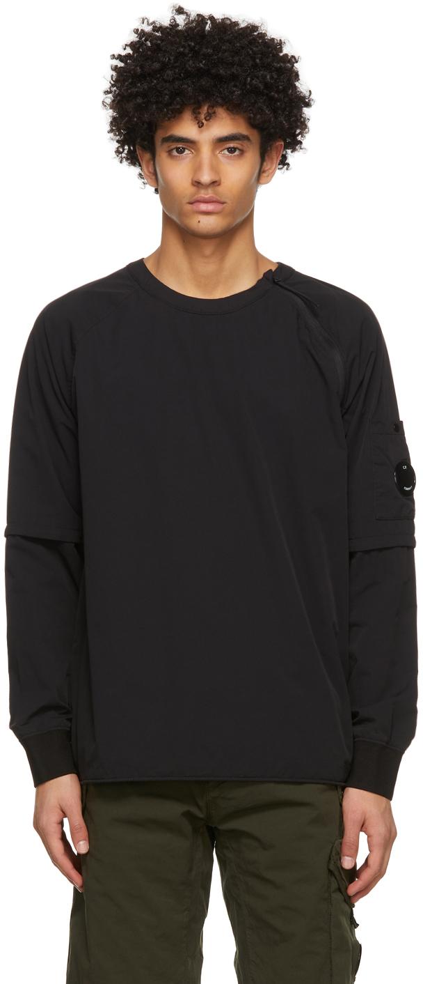C.P. Company 黑色 Double 套头衫