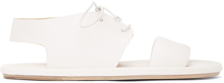 Marsèll 白色 Cornice 凉鞋