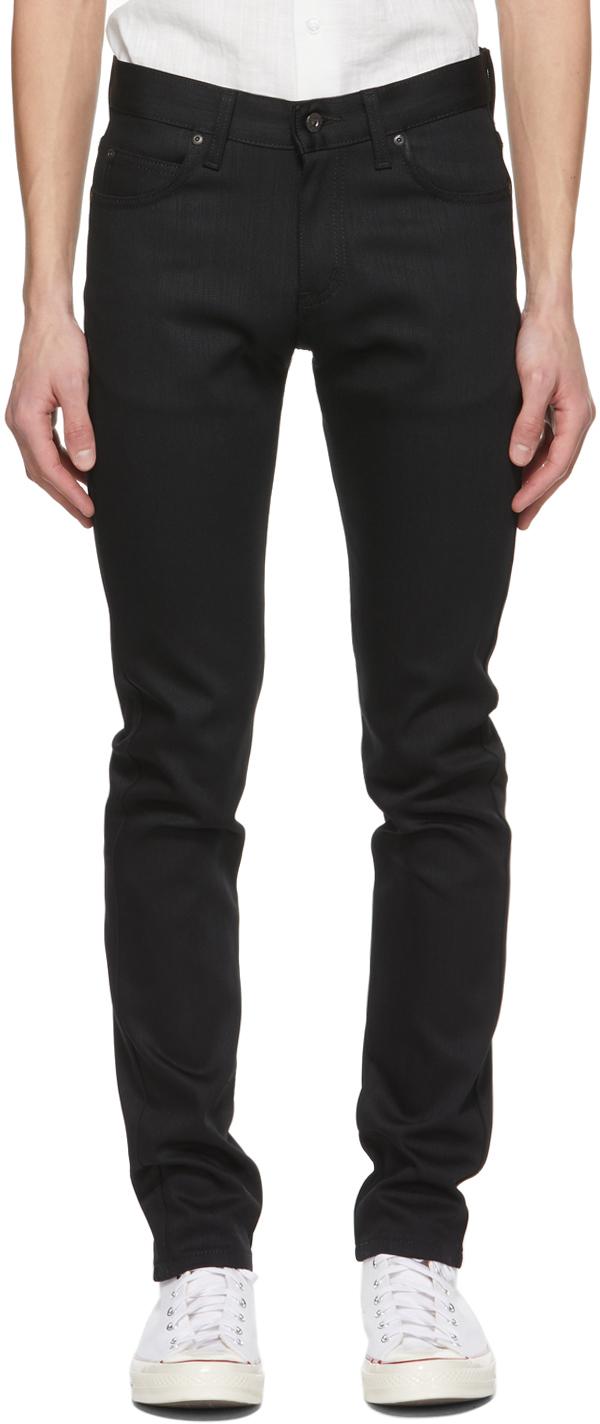 Naked & Famous Denim 黑色 Super Guy 牛仔裤