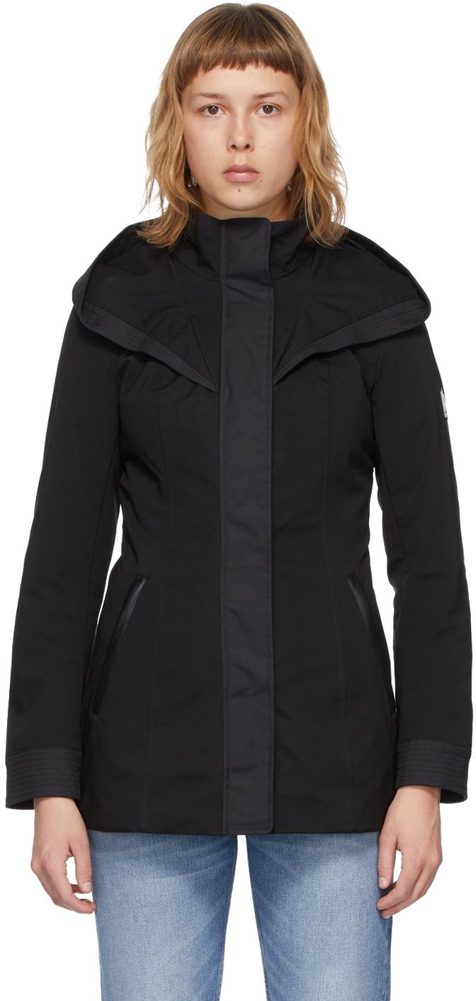 Mackage 黑色 Alba 疏水夹克