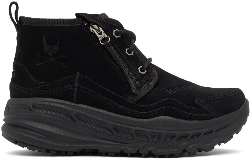 mastermind WORLD 黑色 UGG 联名 Neumel 踝靴