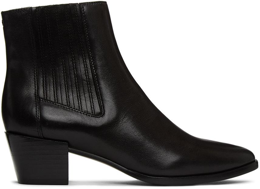 Rag & Bone 黑色 Rover 踝靴