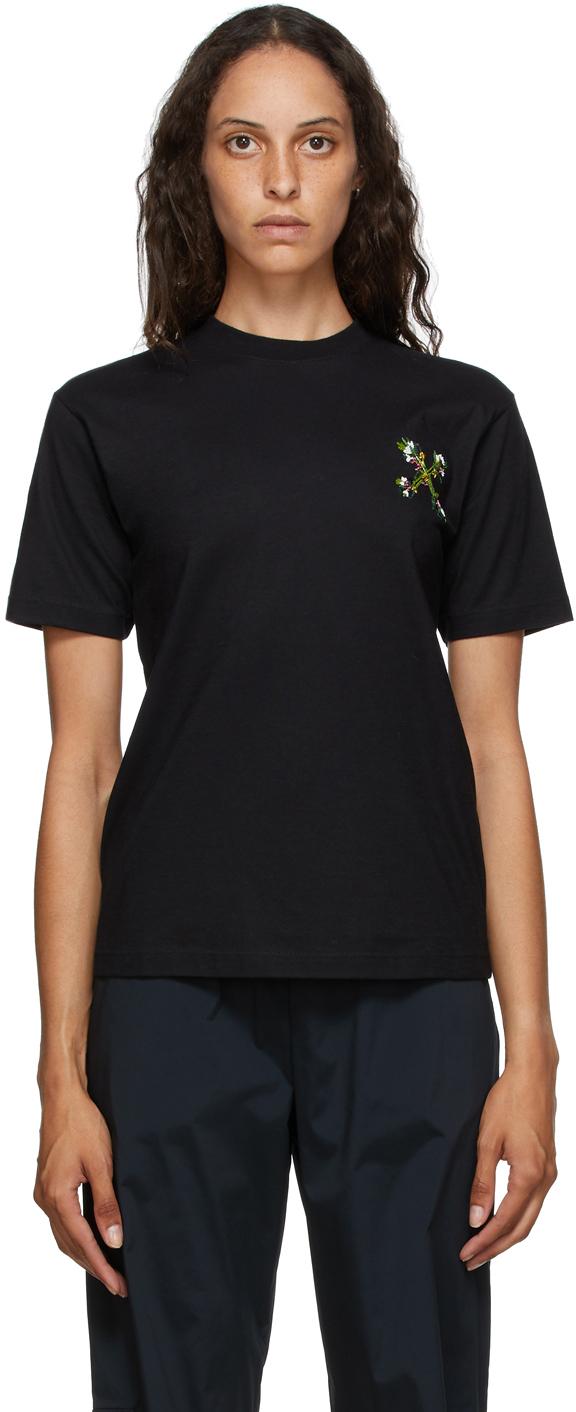 Off-White 黑色 Mini Leaf Arrows T 恤