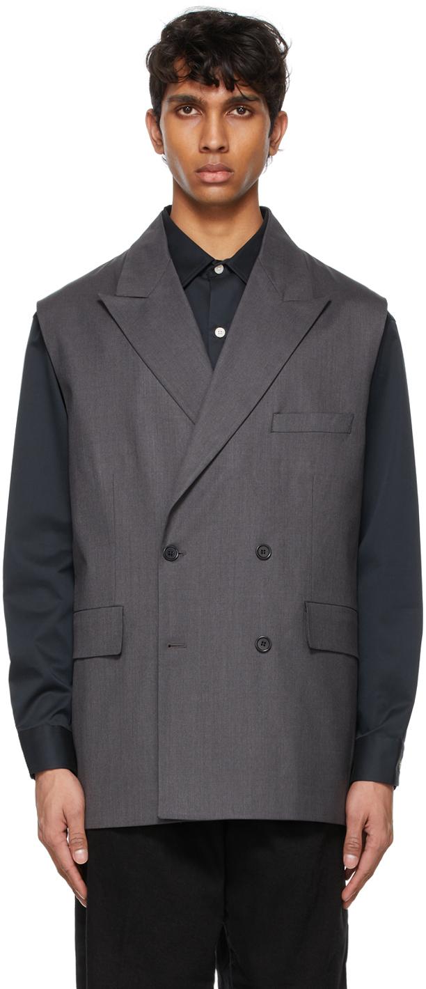 mfpen 灰色 Easy 西装外套