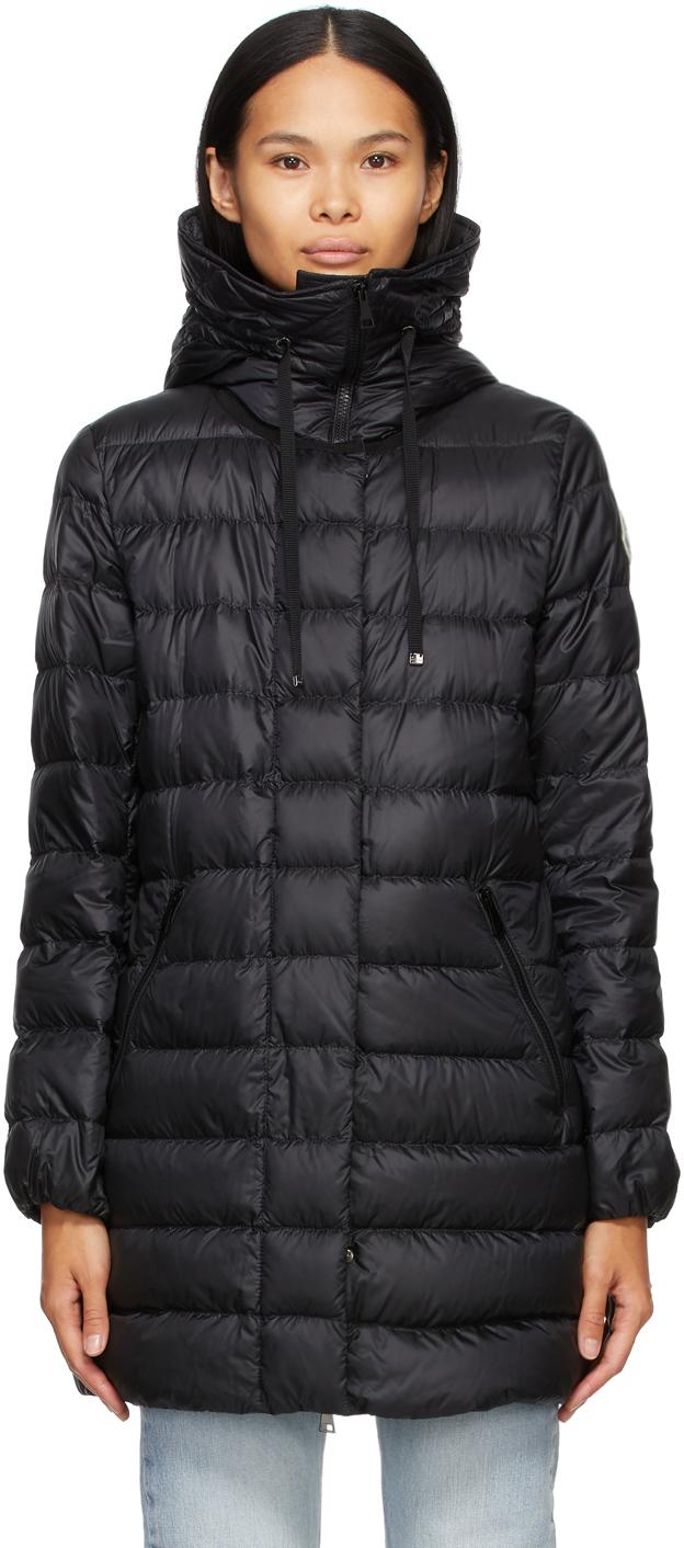 Moncler 黑色 Gnosia 羽绒大衣
