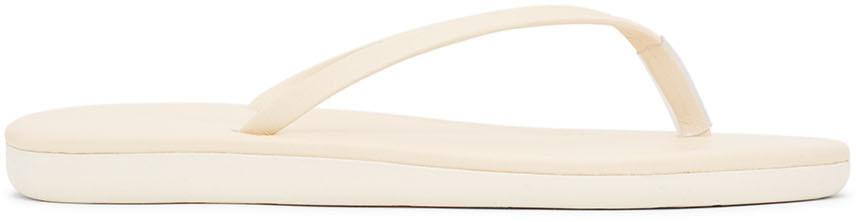 Ancient Greek Sandals 灰白色 Saionara 拖鞋